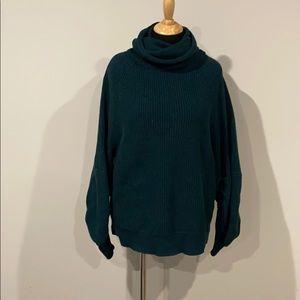 Cabi hunter green sweater